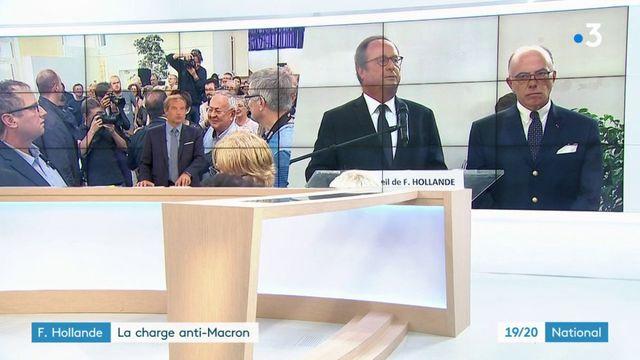 François Hollande : la charge anti-Macron