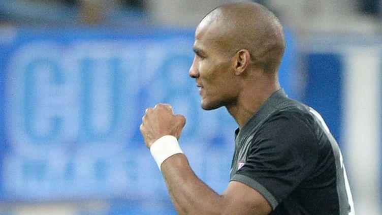 Le joueur du FC Metz Florent Malouda