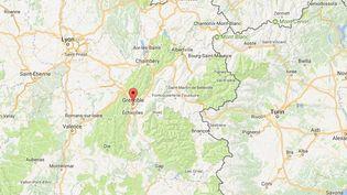 L'agression des CRS a eu lieu à Grenoble, en Isère, lundi 21 mai (CAPTURE D'ECRAN GOOGLE MAPS)