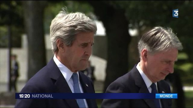 À Hiroshima, John Kerry rend hommage aux victimes de 1945