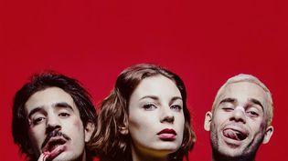 Raph, Adé et Renaud, les trois membres de Thérapie Taxi. (Pochette de l'album/Panenka)