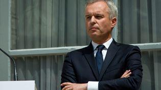 François de Rugy lors de la passation de pouvoir le 17 juillet 2018. (SADAK SOUICI / LE PICTORIUM / MAXPPP)