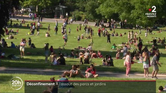 Déconfinement : les Parisiens à l'assaut des parcs