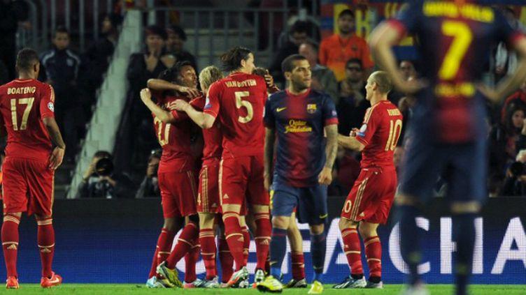 Barcelone face au Bayern