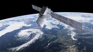 Avec l'augmentation du nombre de satellites en orbite, il va devenir indispensable de confier l'exécution des manœuvres d'évitement de collision à une intelligence artificielle, prévient l'Agence spatiale européenne. (ESA)