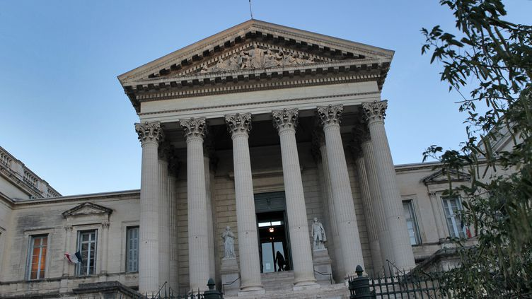 Le palais de justice de Montpellier. (GUILLAUME BONNEFONT / MAXPPP)