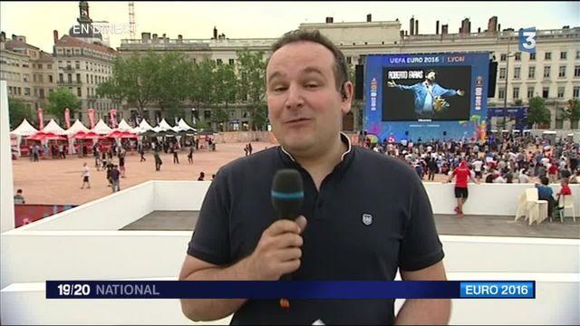Lyon : 20 000 spectateurs attendus dans la fan zone