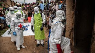 """Photo extraite de son reportage """"De l'épidémie à la pandémie"""" visible sur le siteCongo in Conversation. (FINBARR O'REILLY POUR LA FONDATION CARMIGNAC)"""
