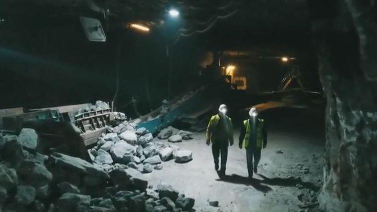 Zoom sur une mine de sel en Meurthe-et-Moselle. (FRANCE 2)