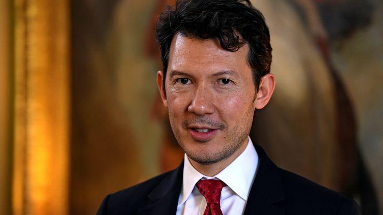 Benjamin Smith, nouveau directeur général d'Air France, le 2 juin 2016 à Dublin (Irlande). (CLODAGH KILCOYNE / REUTERS)