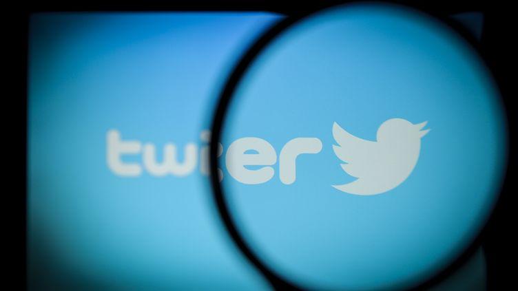 Le logo de Twitter, le 30 octobre 2017. (JAAP ARRIENS / NURPHOTO / AFP)