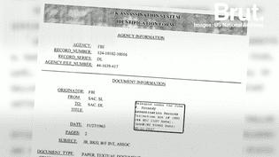 USA : Le gouvernement déclassifie 99% des documents liés à l'assassinat du Président Kennedy (Brut.)