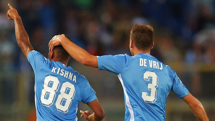 La Lazio a débuté sa saison par une victoire contre Bologne  (VINCENZO PINTO / AFP)