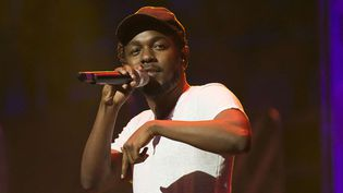Kendrick Lamar sur scène, le 2 octobre 2014 à Toronto (Canada).  (Arthur Mola/AP/SIPA)