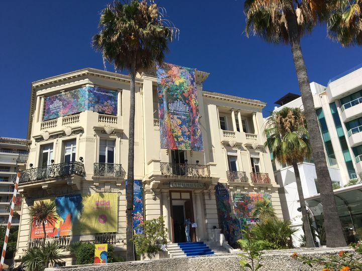 La Malmaison, headquarters of the Directors' Fortnight in Cannes, July 5, 2021 (LCA / FRANCEINFO CULTURE)