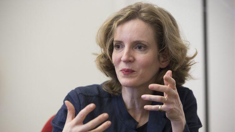(Après son éviction de la direction du parti par Nicolas Sarkozy, la jeune femme est plus déterminée que jamais à affronter les autres candidats © MaxPPP)