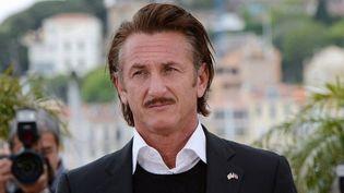 Sean Penn le 18 mai à Cannes  (Anne-Christine Poujoulat / AFP)