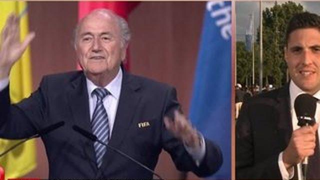 La victoire inattendue de Sepp Blatter