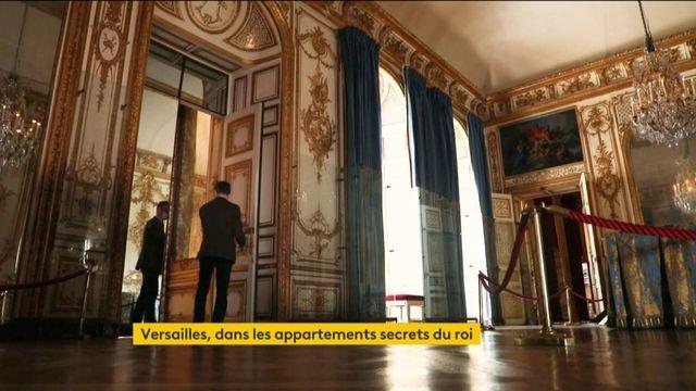 Versailles : immersion dans les appartements secrets du roi