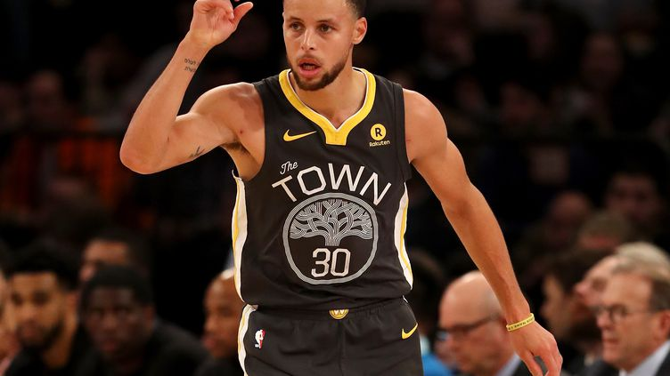 Stephen Curry (Golden State Warriors). (ELSA / GETTY IMAGES NORTH AMERICA)