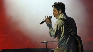 Prince sur scène en 2011.  (IPA PRESS/SIPA)
