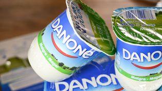 Des yaourts Danone. (MAXPPP)