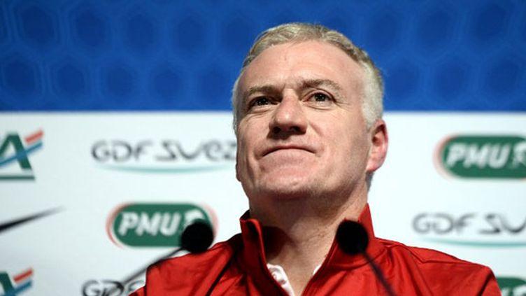 Le sélectionneur de l'équipe de France, Didier Deschamps