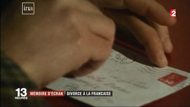 Mémoire d'écran : divorce à la Française