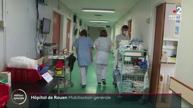 Coronavirus : mobilisation générale à l'hôpital de Rouen