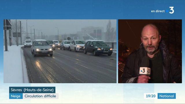 Intempéries : le trafic ferroviaire touché par la neige et le froid