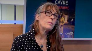 Hannelaure Cayre. (CAPTURE ECRAN / FRANCEINFO)