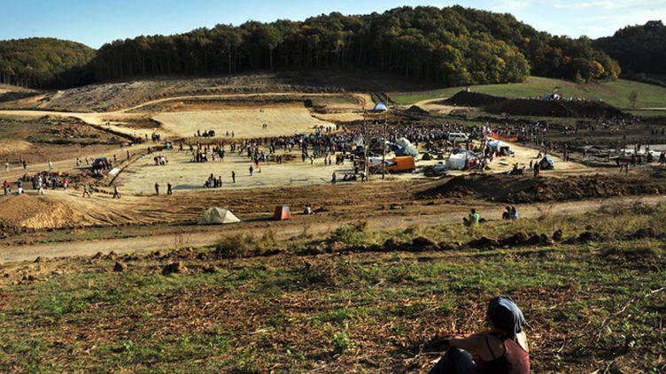 (L'association France Nature environnement va déposer une plainte contre X dans le dossier du barrage de Sivens © MAXPPP)