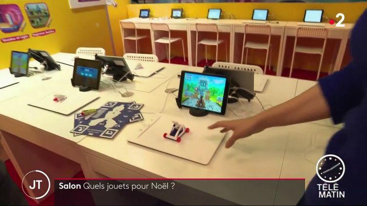 Des cadeaux high tech au salon Kidexpo 2019. (France 2)