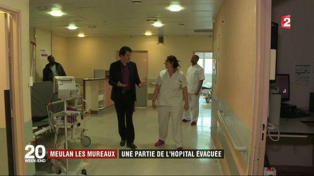 Meulan-Les Mureaux : une partie de l'hôpital évacuée