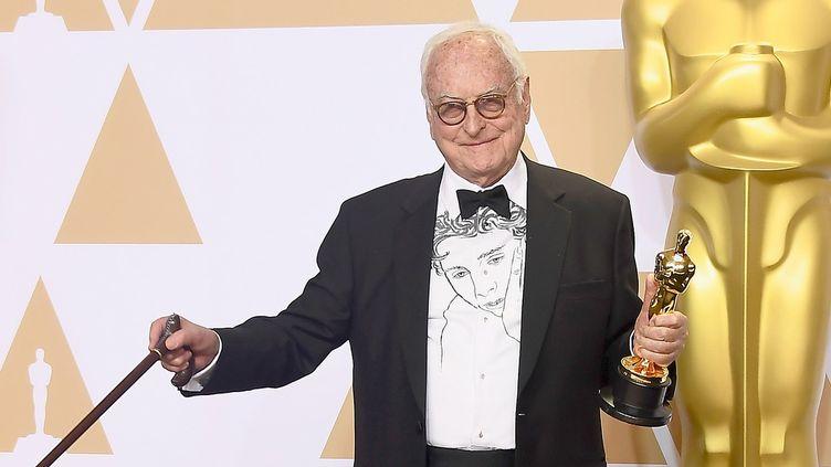 Le légendaire cinéaste James Ivory obtient son premier Oscar le 4 mars 2018.  (Frazer Harrison / GETTY IMAGES NORTH AMERICA / AFP)