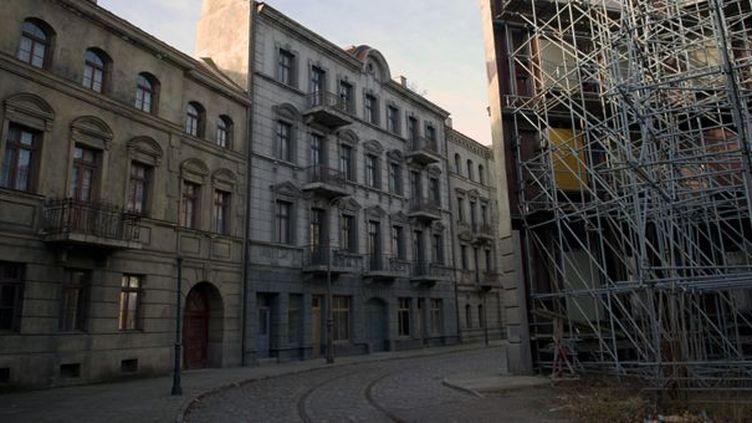 Décors des studios Babelsberg  (Johannes Eisele / AFP)