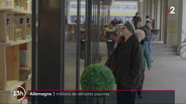 Allemagne : 3 millions de retraités pauvres
