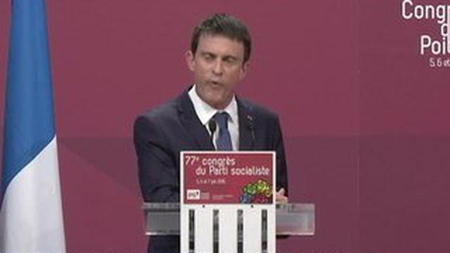 Manuel Valls a redonné un coup de fouet au congrès du PS