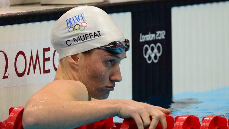 Camille Muffat s'est qualifiée sur le 200m (MARTIN BUREAU / AFP)