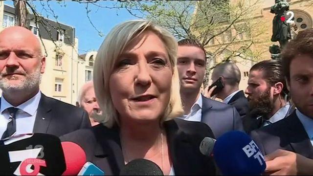1er-Mai : Marine Le Pen présente en Moselle