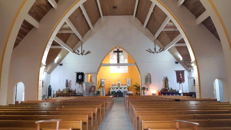 Le conseil municipal d'Émiéville s'est tenu sur les bancs de l'église. (photo d'illustration) (AURÉLIE LAGAIN / FRANCE-BLEU BREIZH IZEL)