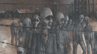 Michel Girard a peint l'enfer dAuschwitz  (France 3 / Culturebox)