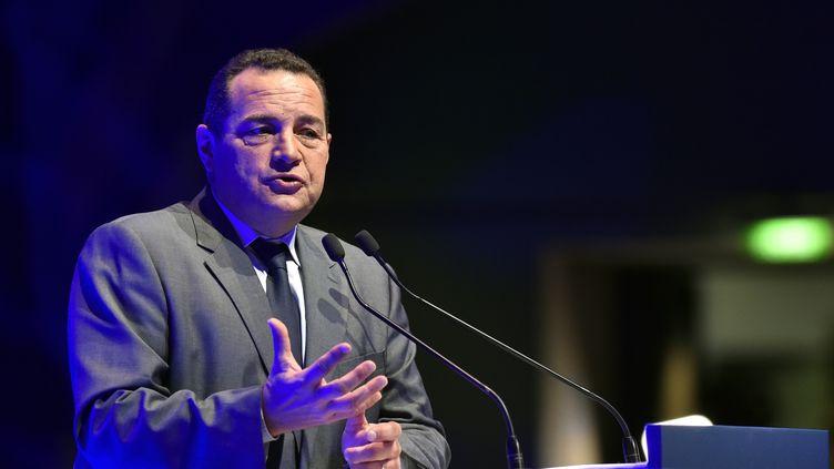 Jean-Frédéric Poisson, le 17 octobre 2016, à Paris. (ALAIN JOCARD / AFP)