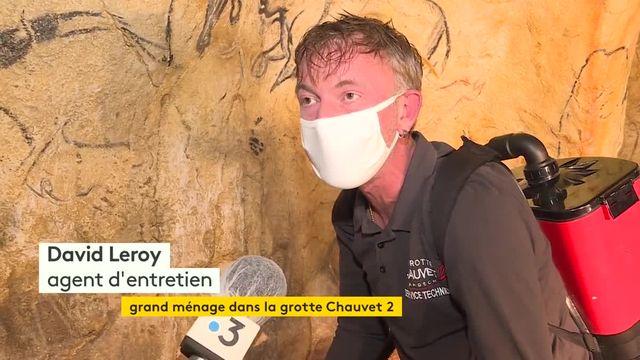 la grotte de Chauvet se refait une beaute