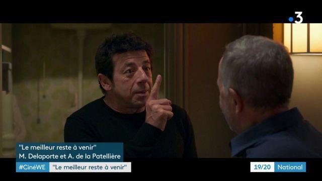 """Cinéma : Bruel et Luchini se partagent l'affiche du film """"Le meilleur reste à venir"""", une comédie sur la maladie"""