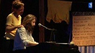 Véronique Lafont chante la résistance à Oradour-sur-Glane  (Culturebox)