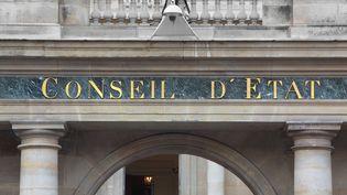 La façade du Conseil d'Etat, à Paris. (MANUEL COHEN / AFP)