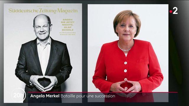 Allemagne : les trois candidats qui pourraient succéder à Angela Merkel