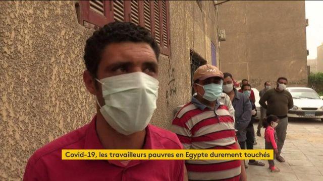 Coronavirus : les travailleurs pauvres en Egypte durement touchés