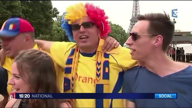 Euro 2016 : la fan zone parisienne se remplit